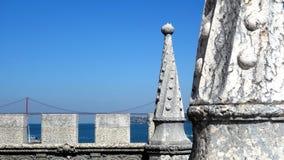 Torre de Belem torn, Lissabon Royaltyfri Bild