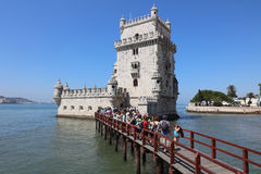 Torre de Belem (torre de Saint Vincent) lisboa Imágenes de archivo libres de regalías