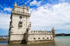 Torre de Belem. Tower of Belem in Lisbon, Portugal royalty free stock photo