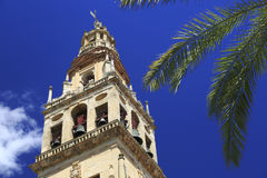 "Torre de Bell catedral de Mosque†""de Córdova Fotos de Stock Royalty Free"
