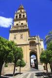 """Torre de Bell catedral de Mosque†""""de Córdova Imagens de Stock"""