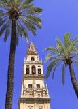 """Torre de Bell catedral de Mosque†""""de Córdova Imagem de Stock Royalty Free"""