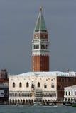 Torre de Bell da basílica da marca do St Imagem de Stock Royalty Free