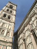 Torre de Bell da catedral de Florença Foto de Stock