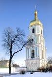 Torre de Bell da catedral de Sophia de Saint em Kiev Imagem de Stock Royalty Free