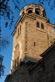 A torre de Bell da igreja de St Constantim e Helena em Plovdiv, Bulgária Imagem de Stock Royalty Free