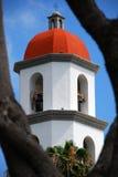 Torre de Bell de iglesia Imagenes de archivo