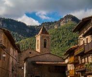 Igreja com torre de sino fotografia de stock