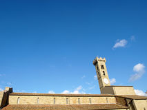 Torre de Bell em Fiesole fotografia de stock