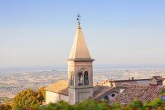 Torre de Bell em San Marino Foto de Stock Royalty Free