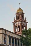 Torre de Bell en el districto de la plaza de Kansas City Missou Foto de archivo