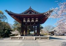 Torre de Bell en Nara Fotografía de archivo libre de regalías