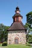 Torre de Bell en Perniö, Finlandia Fotos de archivo libres de regalías