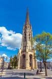 Torre de Bell gótico alta de Catherdal, Bordéus Imagens de Stock