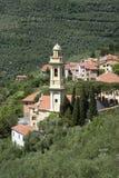 Torre de Bell na vila antiga Imagens de Stock Royalty Free