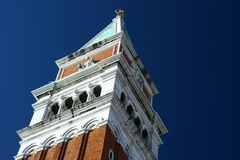 Torre de Bell no quadrado da marca do St., Vencie, Italy Imagem de Stock