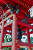 Torre de Bell no templo de Kiyomizu imagem de stock