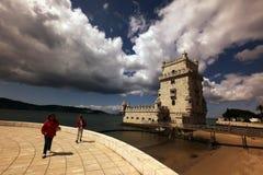 TORRE DE BELÉM DE EUROPA PORTUGAL LISBOA Fotos de Stock Royalty Free