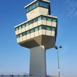 Torre de Berlín TXL del aeropuerto Imagen de archivo libre de regalías