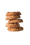 Torre de biscoitos da microplaqueta de Choc Foto de Stock