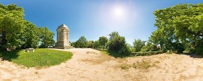 Torre de Bismarck, Stuttgart foto de archivo