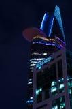 Torre de Bitexco, noche Saigon Fotos de archivo