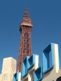 Torre de Blackpool Fotografia de Stock Royalty Free