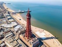 Torre de Blackpool en Blackpool, Reino Unido fotos de archivo