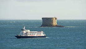 Torre de Bréhon, Guernsey Imagens de Stock