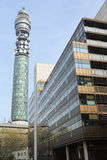Torre de BT (torre de la oficina de correos del aka, torre de las telecomunicaciones) Fotografía de archivo