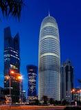 Torre de Burj Doha de Qatar Imagen de archivo