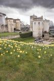 Torre de Byward de la torre de Londres Imágenes de archivo libres de regalías