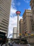 Torre de Calgary imágenes de archivo libres de regalías