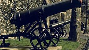 Torre de canh?es de Londres vídeos de arquivo