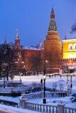 Torre de canto do arsenalnaya de Moscovo Kremlin Imagens de Stock