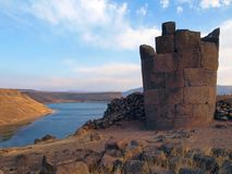 Torre de Cementry foto de stock