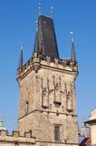 Torre de Charles Bridge Prague Fotografia de Stock Royalty Free