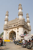 Torre de Charminar, Hyderabad Foto de Stock Royalty Free