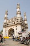 Torre de Charminar, Hyderabad Foto de archivo libre de regalías