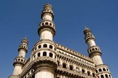 Torre de Charminar, Hyderabad Fotos de archivo libres de regalías