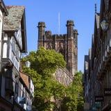 Torre de Chester Cathedral Imágenes de archivo libres de regalías