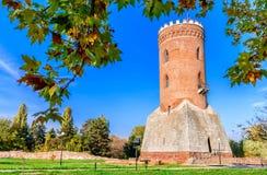 Torre de Chindia, Targoviste, Rumania Foto de archivo libre de regalías