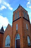 Torre de Chruch contra o céu azul Imagem de Stock