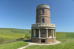 Torre de Clavell, bahía de Kimmeridge Imagenes de archivo
