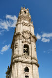 Torre de Clerigos em Porto (Portugal) Imagem de Stock