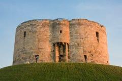 Torre de Clifford, York Imágenes de archivo libres de regalías