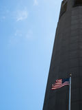 Torre de Coit Fotografia de Stock