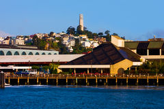 Torre de Coit em San Francisco Imagens de Stock Royalty Free