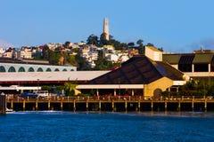 Torre de Coit en San Francisco Imágenes de archivo libres de regalías