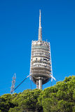 Torre de Collserola i Barcelona Royaltyfri Fotografi
